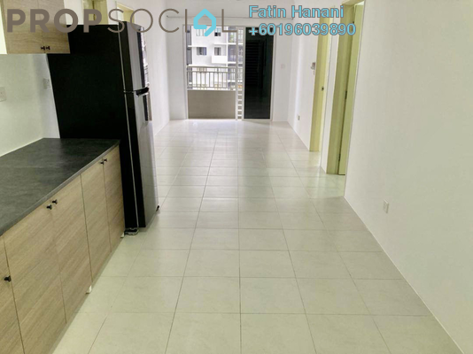 Condominium For Rent in Hamilton Residence, Wangsa Maju Freehold Semi Furnished 3R/2B 1.6k