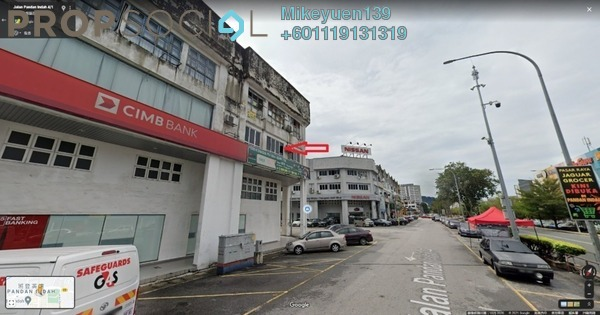 Office For Rent in Pandan Indah, Pandan Indah Freehold Unfurnished 0R/0B 1.2k