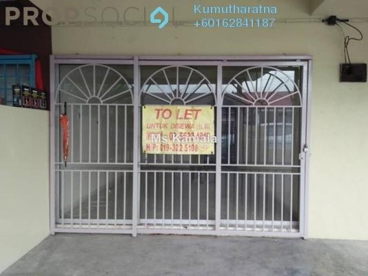 Terrace For Rent in Taman Sentosa, Klang Freehold Unfurnished 4R/2B 1.2k