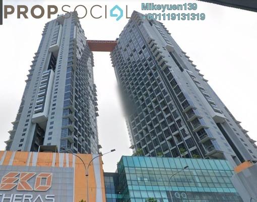Condominium For Rent in Section 2, Bandar Mahkota Cheras Freehold Semi Furnished 1R/2B 1.3k