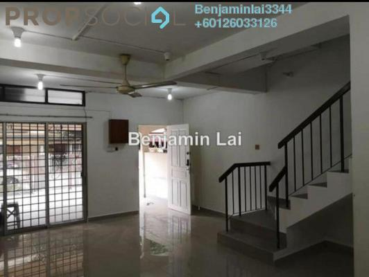Terrace For Sale in Taman Sri Sinar, Segambut Freehold Unfurnished 3R/3B 688k