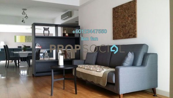 Condominium For Rent in Tiffani Kiara, Mont Kiara Freehold Fully Furnished 3R/4B 6k