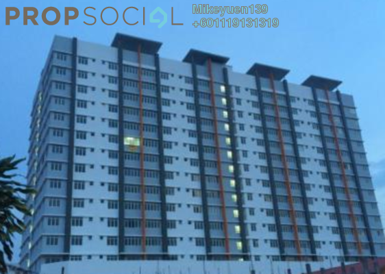 Condominium For Rent in 228 Selayang Condominium, Selayang Freehold Semi Furnished 3R/2B 1.1k