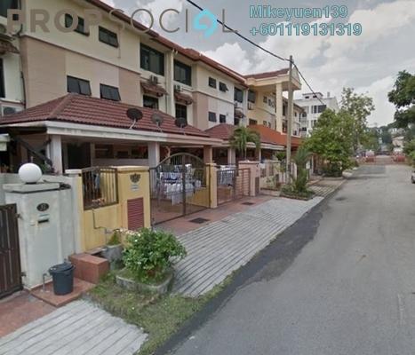 Terrace For Sale in SD8, Bandar Sri Damansara Freehold Unfurnished 5R/4B 800k