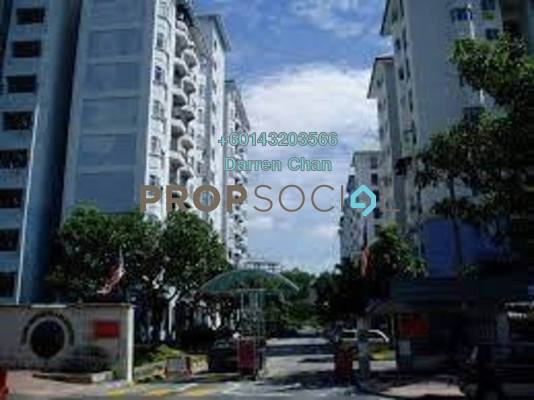 Apartment For Rent in Tasik Heights Apartment, Bandar Tasik Selatan Freehold Semi Furnished 3R/2B 1.2k