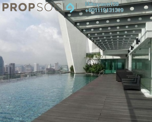 Condominium For Sale in Regalia @ Jalan Sultan Ismail, Kuala Lumpur Freehold Unfurnished 1R/1B 445k