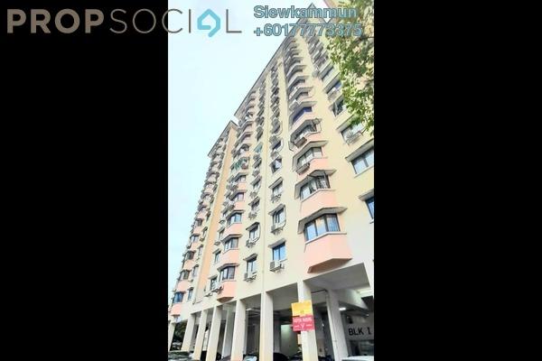 Condominium For Sale in Perdana Puri, Kepong Freehold Semi Furnished 3R/2B 310k