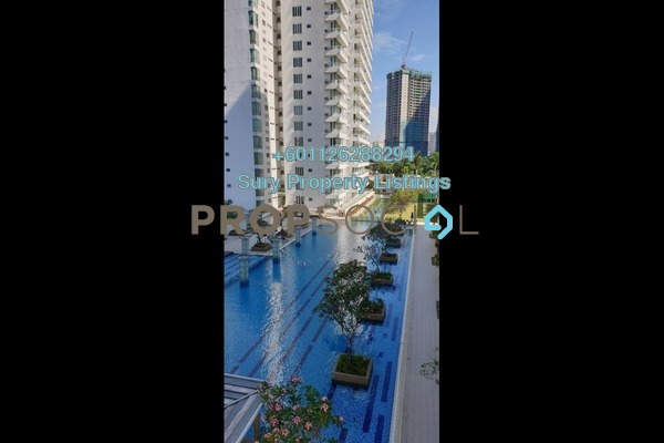 Serviced Residence For Rent in Embassyview, Ampang Hilir Freehold Unfurnished 4R/3B 4k