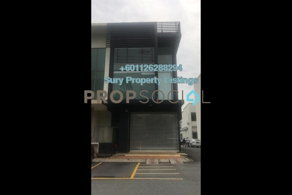 Shop For Rent in Temasya Square Business Park, Temasya Glenmarie Freehold Unfurnished 0R/0B 15k