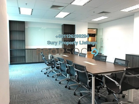 Office For Rent in Glomac Damansara, TTDI Freehold Fully Furnished 0R/0B 236k