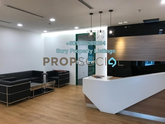 Office For Rent in Glomac Damansara, TTDI Freehold Fully Furnished 0R/6B 39.3k
