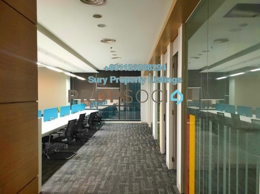 Office For Rent in The Horizon, Bangsar South Freehold Fully Furnished 0R/0B 28k