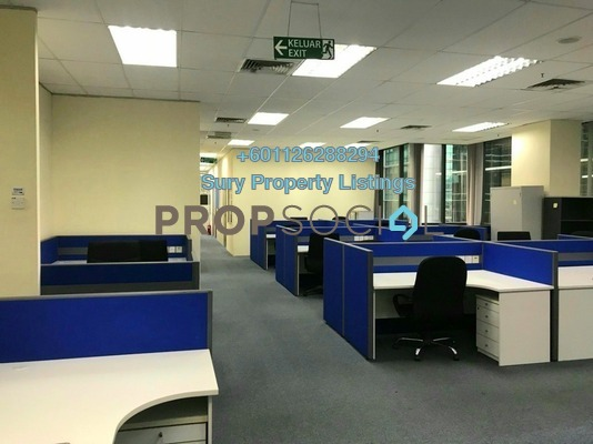 Office For Rent in The Horizon, Bangsar South Freehold Fully Furnished 0R/0B 19.4k