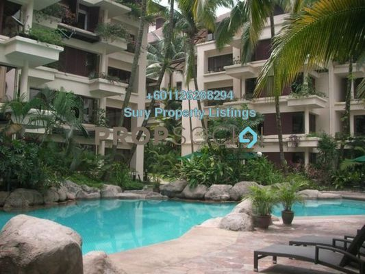 Condominium For Rent in Seri Duta I, Kenny Hills Freehold Semi Furnished 2R/2B 3k