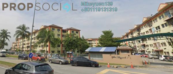 Apartment For Sale in Sri Anggerik 1, Bandar Kinrara Freehold Unfurnished 3R/2B 195k