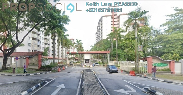 Condominium For Rent in Arena Green, Bukit Jalil Freehold Fully Furnished 3R/2B 1.6k