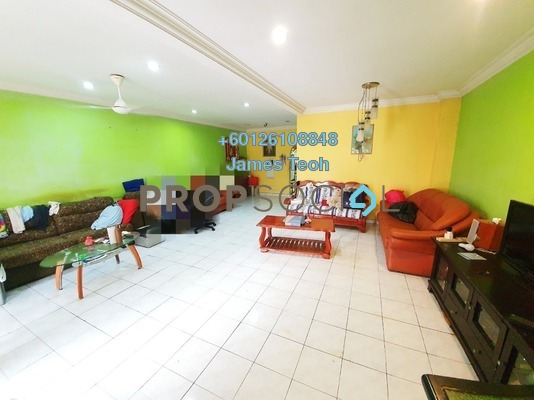 Terrace For Sale in Taman Klang Jaya, Klang Freehold Semi Furnished 4R/3B 480k