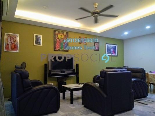Terrace For Sale in Section 2, Bandar Mahkota Cheras Freehold Semi Furnished 4R/3B 535k
