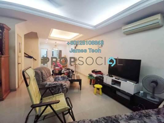 Terrace For Sale in Bandar Botanic, Klang Freehold Semi Furnished 4R/3B 649k