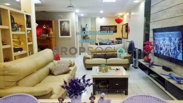 Terrace For Sale in Bandar Botanic, Klang Freehold Semi Furnished 4R/3B 698k