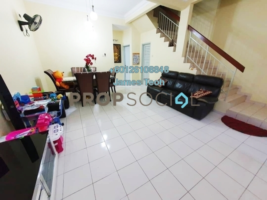 Terrace For Sale in Bandar Puteri Klang, Klang Freehold Semi Furnished 4R/3B 420k