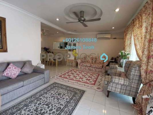 Terrace For Sale in Bandar Botanic, Klang Freehold Semi Furnished 4R/3B 590k