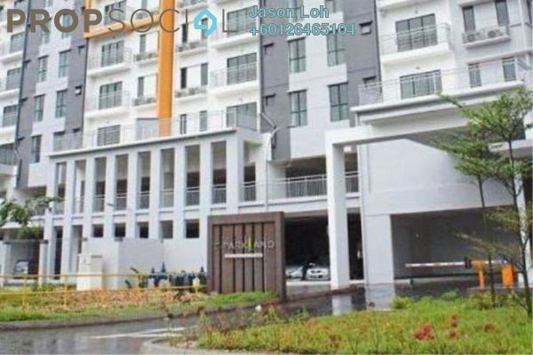 Condominium For Rent in T-Parkland, Templer's Park Freehold Semi Furnished 3R/3B 1.2k