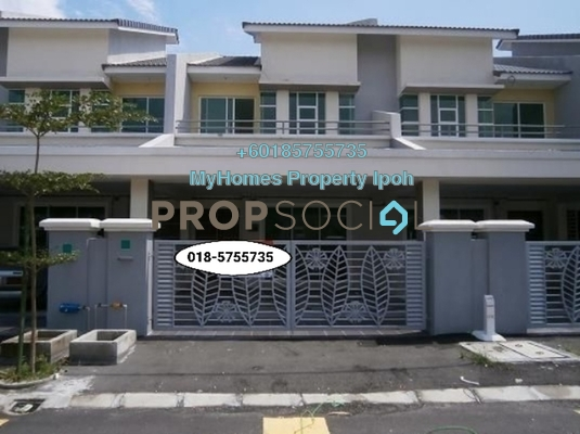 Terrace For Rent in Station 18, Ipoh Freehold Semi Furnished 4R/4B 1.25k
