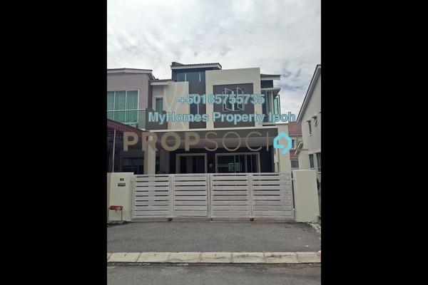 Link For Rent in Medan Lapangan Sentosa, Ipoh Freehold Unfurnished 4R/4B 1.2k
