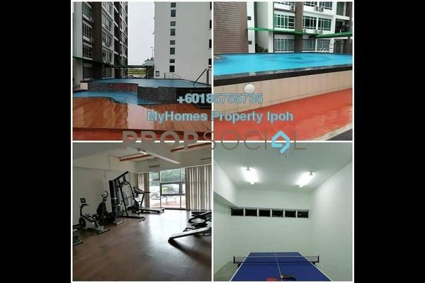 Condominium For Rent in Bandar Seri Botani, Ipoh Freehold Semi Furnished 3R/2B 1.3k