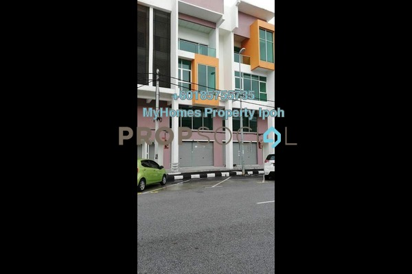 Shop For Rent in Taman Tasek Indra, Ipoh Freehold Unfurnished 3R/3B 2k