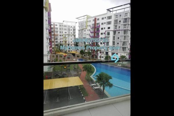 Condominium For Rent in Panorama Lapangan Perdana, Ipoh Freehold Semi Furnished 3R/2B 1.4k