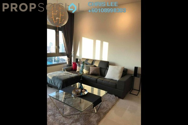 Condominium For Rent in The Sentral Residences, KL Sentral Freehold Fully Furnished 2R/2B 6.1k