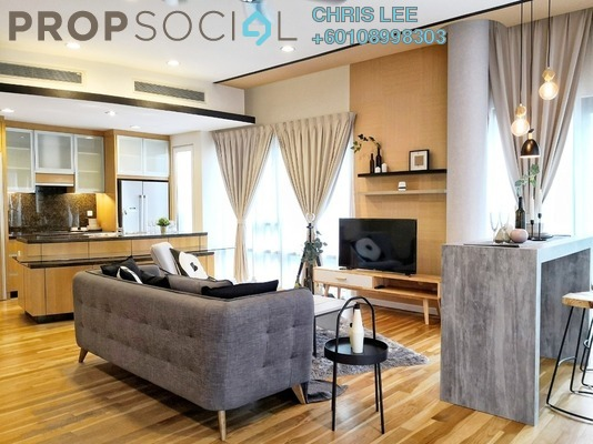 Condominium For Rent in St Mary Residences, KLCC Freehold Fully Furnished 1R/2B 5.1k