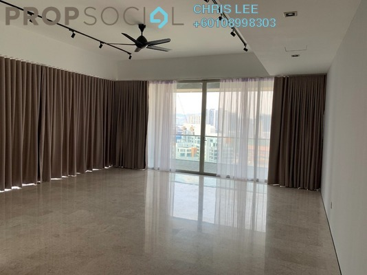 Condominium For Rent in Park Seven, KLCC Freehold Semi Furnished 3R/3B 9k
