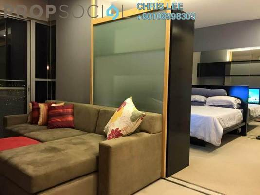 Condominium For Rent in VERVE Suites, Mont Kiara Freehold Fully Furnished 1R/1B 2.4k