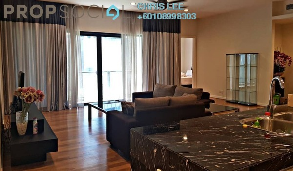 Condominium For Rent in St Mary Residences, KLCC Freehold Fully Furnished 2R/2B 7k