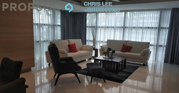 Condominium For Rent in Le Nouvel, KLCC Freehold Semi Furnished 4R/4B 12k