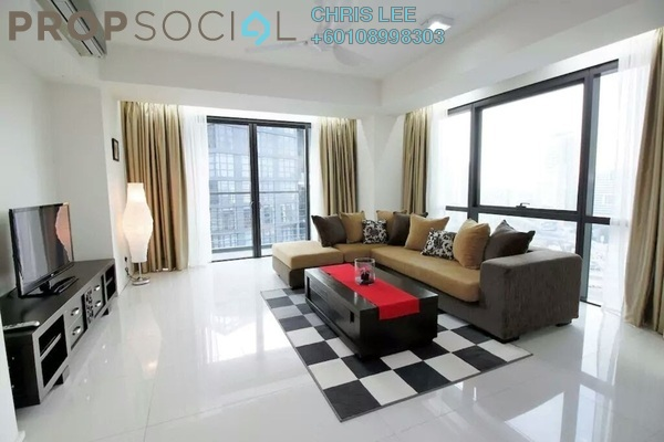 Condominium For Rent in Hampshire Place, KLCC Freehold Fully Furnished 2R/2B 7k