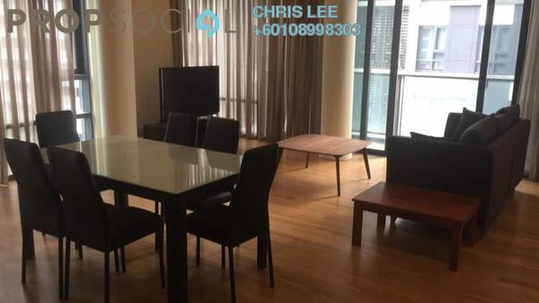 Condominium For Rent in St Mary Residences, KLCC Freehold Fully Furnished 1R/1B 4.5k