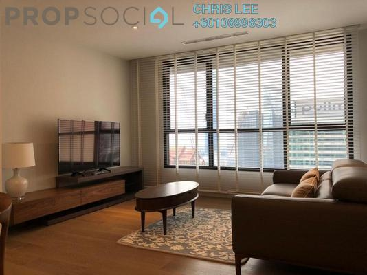 Condominium For Rent in The RuMa Residences, KLCC Freehold Fully Furnished 2R/2B 7k