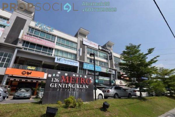 Shop For Rent in Metro Genting Klang, Setapak Freehold Unfurnished 0R/2B 7k