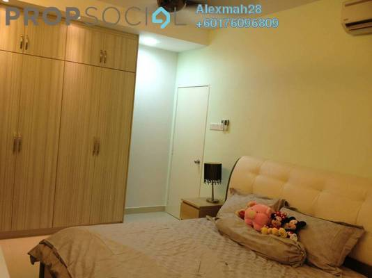 Condominium For Rent in Platinum Hill PV2, Setapak Freehold Fully Furnished 3R/2B 2.4k