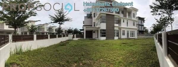 Semi-Detached For Sale in CasaIdaman, Setia Alam Freehold Unfurnished 7R/7B 2.8m