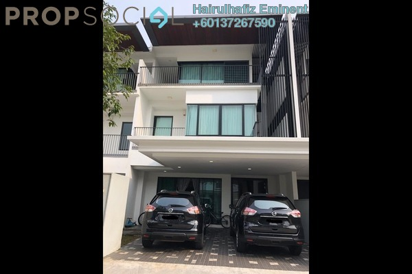 Terrace For Sale in Duta Villa, Setia Alam Freehold Semi Furnished 6R/6B 1.72m