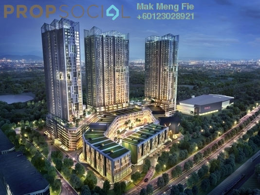 Condominium For Rent in EcoSky, Kuala Lumpur Freehold Semi Furnished 2R/2B 1.8k