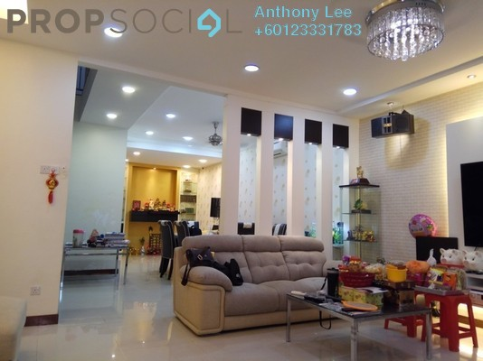 Terrace For Sale in Taman Selayang Jaya, Selayang Freehold Semi Furnished 5R/6B 1.68m