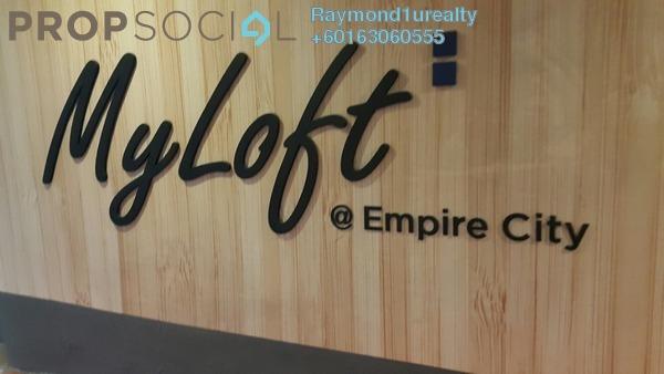 SoHo/Studio For Sale in Empire City, Damansara Perdana Freehold Semi Furnished 1R/2B 380k