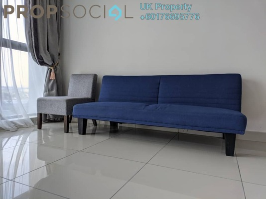 Condominium For Rent in The Parque Residences @ Eco Sanctuary, Telok Panglima Garang Freehold Semi Furnished 2R/1B 1.8k