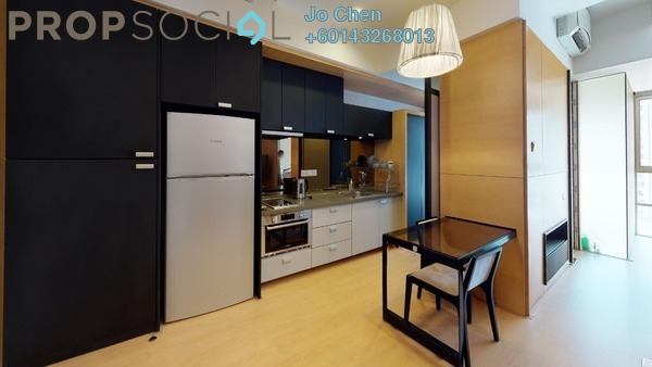 Serviced Residence For Rent in VERVE Suites, Mont Kiara Freehold Fully Furnished 1R/1B 1.9k